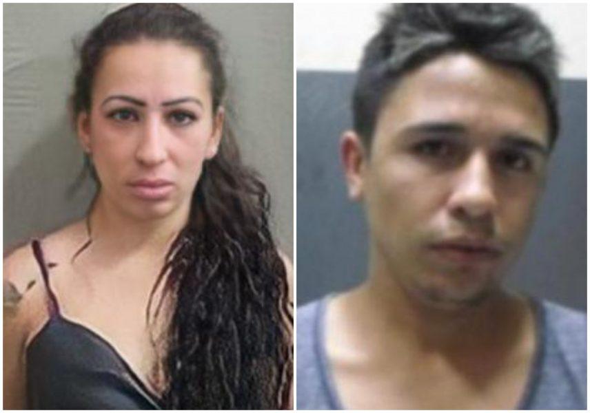 Polícia divulga imagens de casal foragido suspeito de homicídios em Curitiba