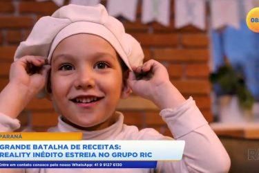 Reality de batalha de receitas inédito estreia no Grupo Ric