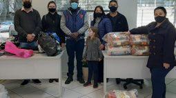 Prefeitura de Maringá doa roupas, cobertores e mantimentos para imigrantes