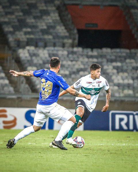 Coritiba fica no empate sem gols com o Cruzeiro