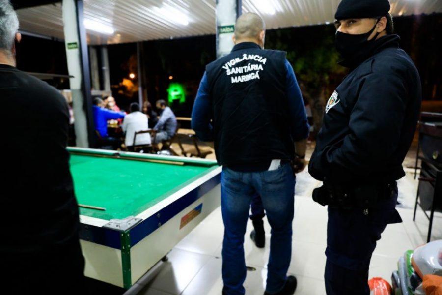 Loja de Maringá descumpre decreto, recebe multa de R$ 10 mil e é interditada
