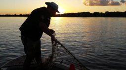 Pescas no Rio das Cinzas estão proibidas devido ao baixo nível da água