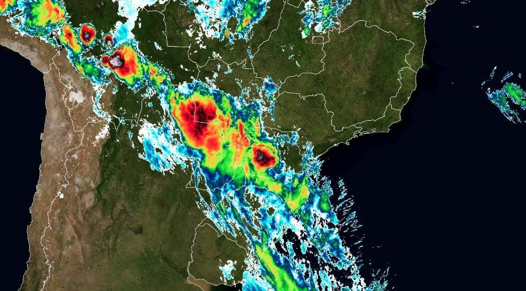 Frente fria e massa de ar polar prometem chuva e dias congelantes para o Paraná