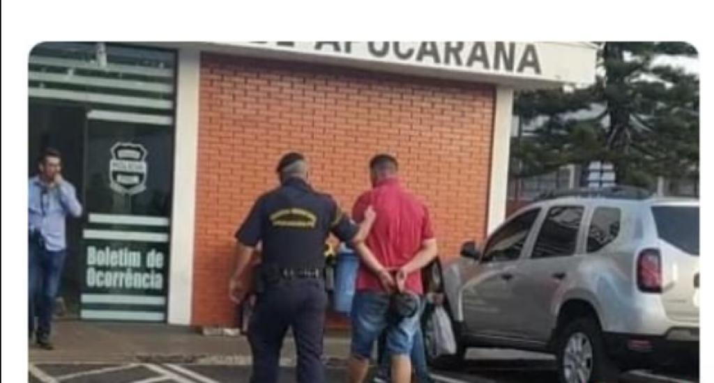 Homem é preso por furtar salames de supermercado em Apucarana