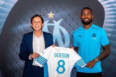 Ex-Flamengo, Gerson é apresentado oficialmente pelo Olympique de Marselha