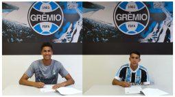 Meninos da base do FC Cascavel assinam com Grêmio, por empréstimo, até o fim de 2021