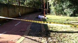 Com ferimentos no rosto e corda no pescoço, homem é encontrado morto em ciclovia de Toledo