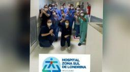 Hospitais de Londrina desativam leitos para Covid-19 por baixa demanda e equipe comemora conquista