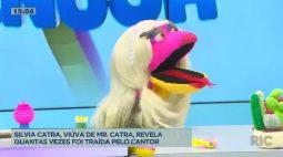 Silvia Catra, viúva de MR. Catra, revela quantas vezes foi traída pelo cantor
