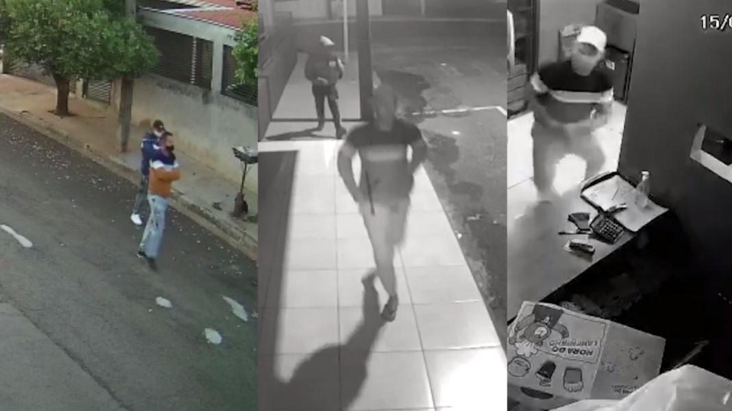 Ladrão da blusa listrada é procurado por diversos furtos em Londrina e região