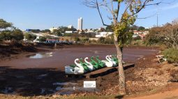 Lago em Ivaiporã precisa ser esvaziado devido ao grande número de piranhas