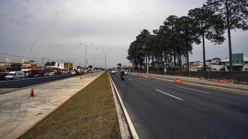 Prefeitura de Curitiba entrega mais um trecho de obras da Linha Verde Norte