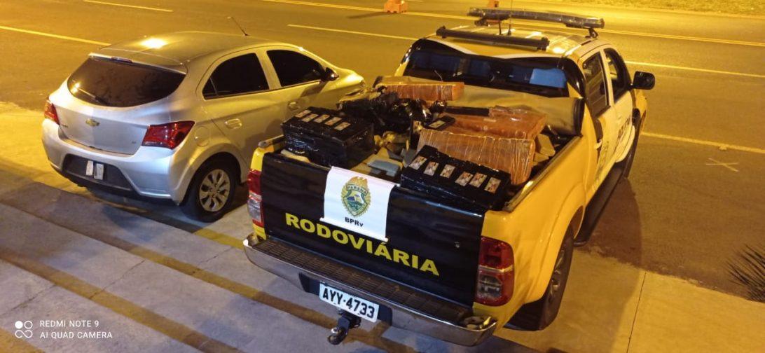 Adolescente é apreendido com carro carregado de maconha em Iporã