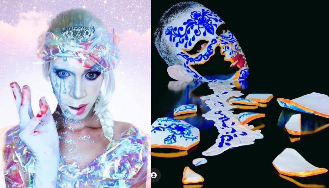 Maquiador de Cambé faz sucesso com vídeos de transformações nas redes sociais