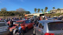 Funcionários do IDR-Paraná protestam contra plano de carreira feito pela instituição