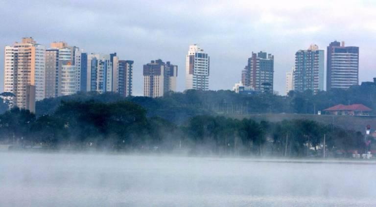 Simepar emite alerta sobre massa de ar polar que se aproxima do Paraná