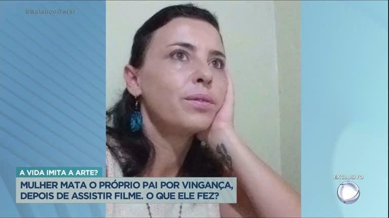 Mulher mata o pai após assistir filme sobre vingança