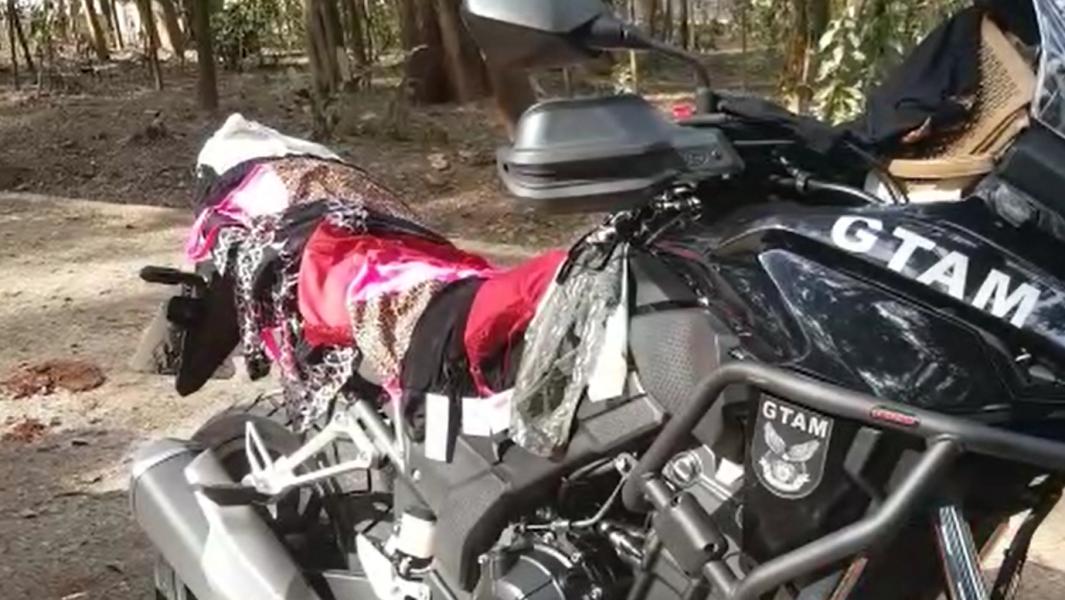 Adolescente é vista carregando calcinhas furtadas e tenta fugir pelo Bosque Central de Londrina