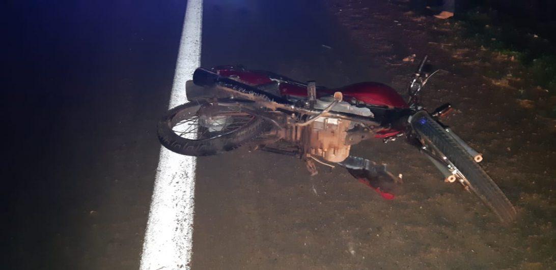 Homem cai de moto e morre atropelado na BR-369, em Cascavel