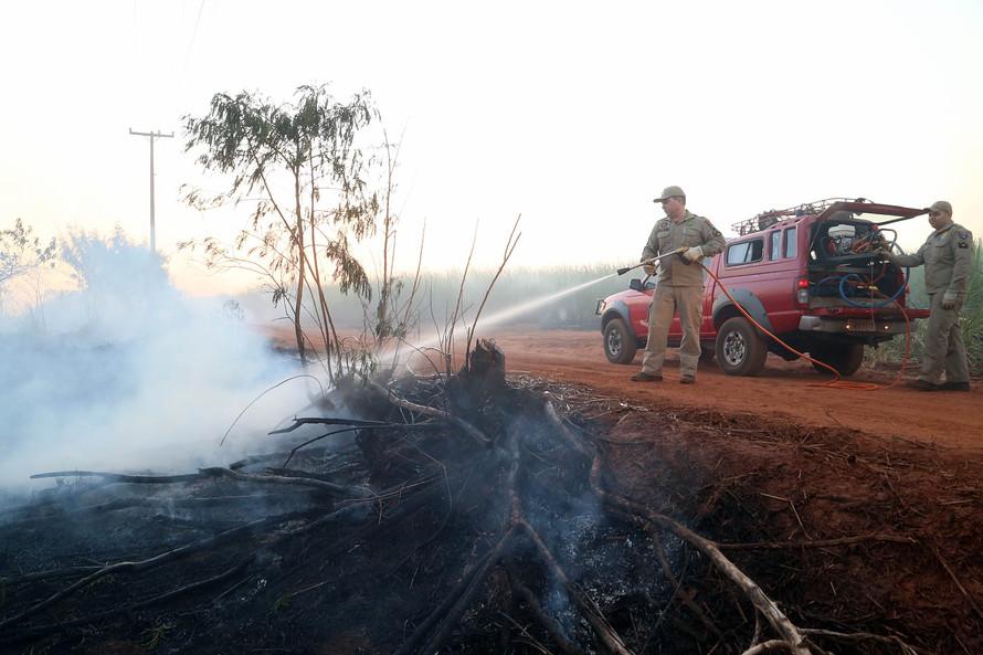 Incêndios florestais reduzem 30% no Paraná durante a estiagem