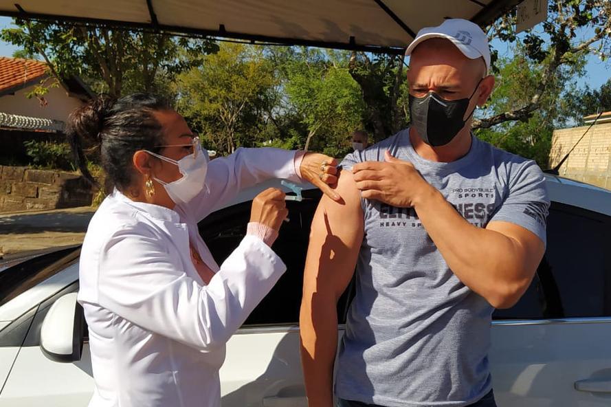 Paraná ultrapassa 6 milhões de vacinas contra Covid-19 aplicadas
