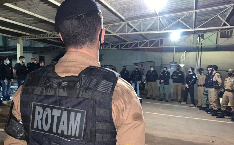 Policiais civis e militares prendem 12 pessoas em 7 cidades durante operação no interior do Paraná
