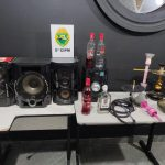 PM de Cianorte prende 13 pessoas e apreende quatro adolescentes em festa