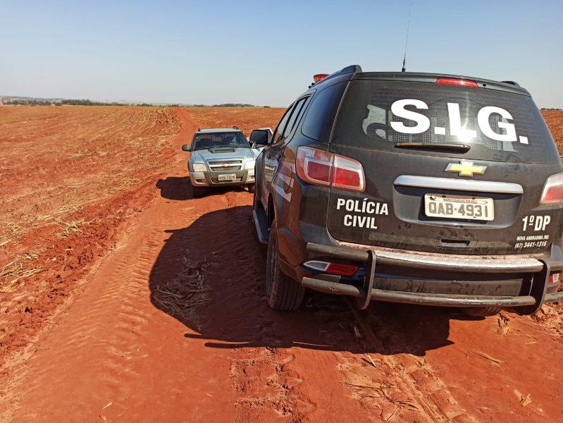 Polícia de Paranavaí prende dupla suspeita de latrocínio contra PM aposentado no MS