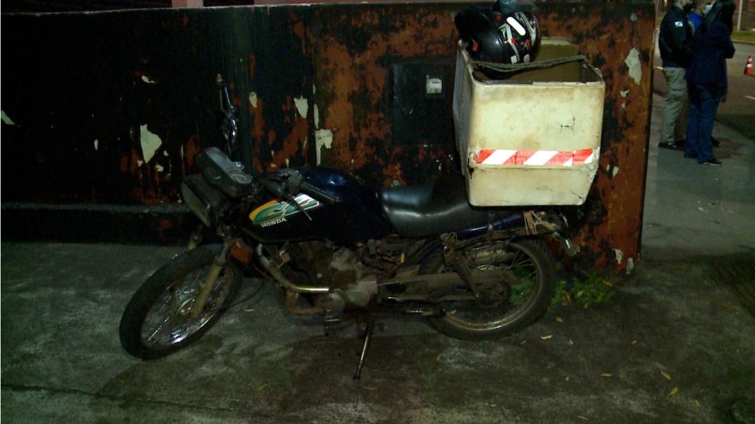 Motociclista com sinais de embriaguez sofre acidente na zona norte de Londrina