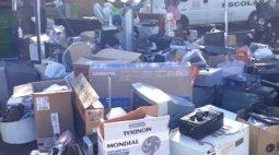 Londrina faz evento para recolher lixo eletrônico e óleo de cozinha, neste domingo (1º)