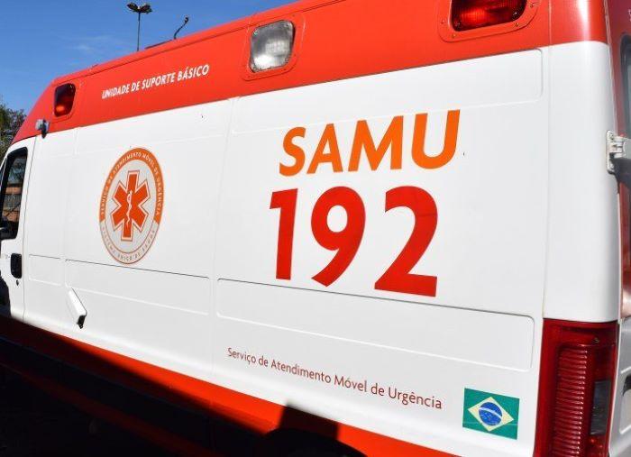 """Bebê """"apressadinho"""" nasce dentro de ambulância, a caminho do hospital de Arapongas"""