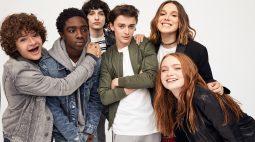 Netflix celebra 5 anos de Stranger Things com fotos do elenco