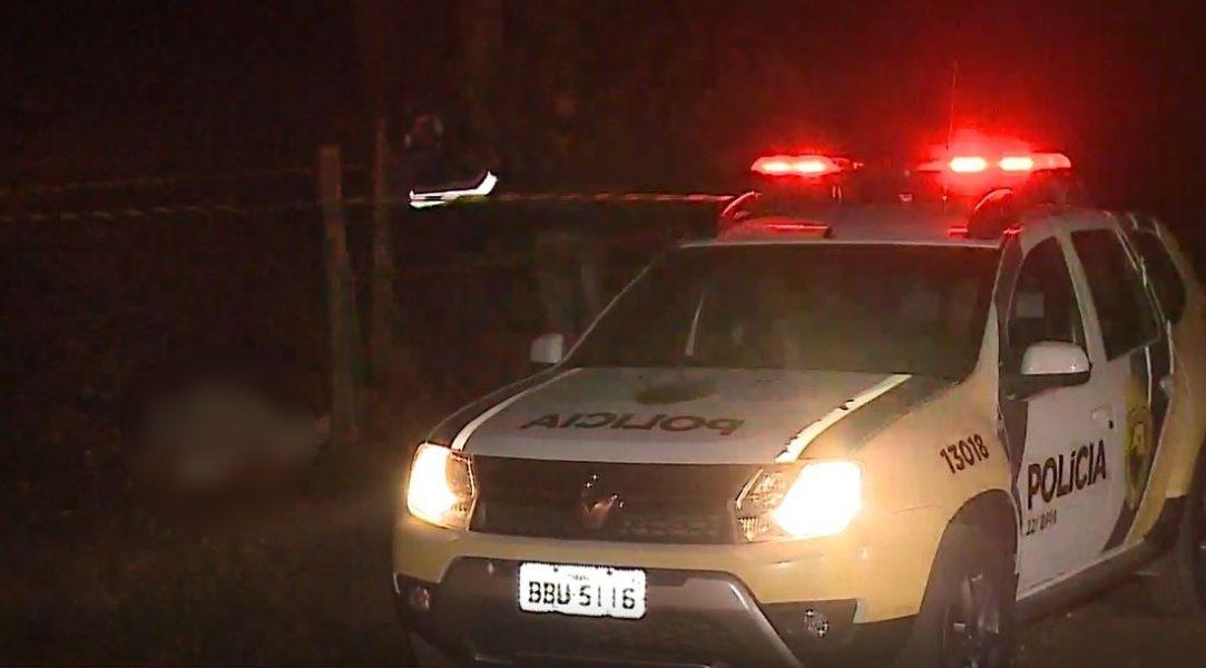 Pai morre e filho fica em estado grave após tiros em Rio Branco do Sul