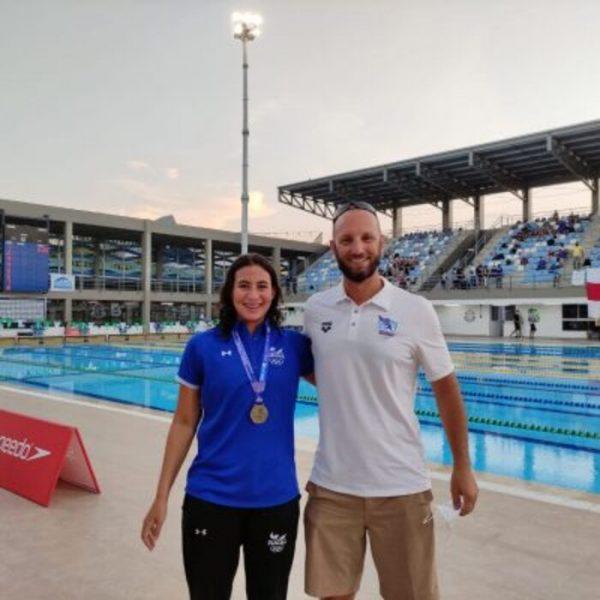 Único treinador brasileiro, fora do país, atuando nas Olimpíadas é de Colombo