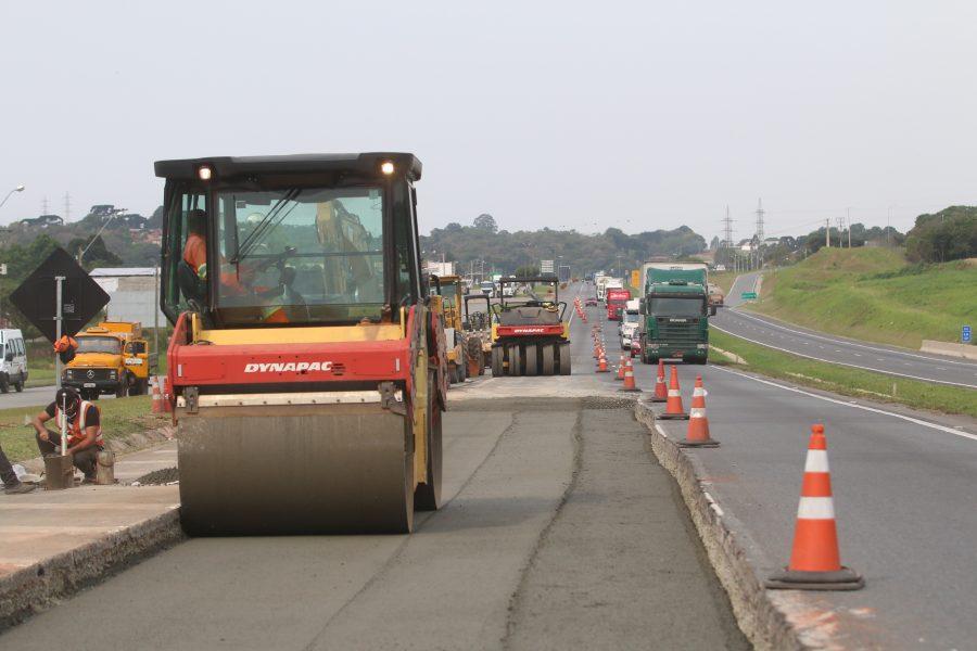 BR-277 terá manutenção do pavimento neste fim de semana; interdição parcial está prevista