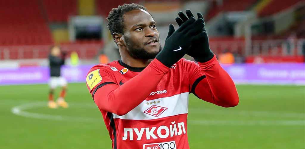 Spartak Moscow conclui contratação em definitivo de Victor Moses, ex-Chelsea