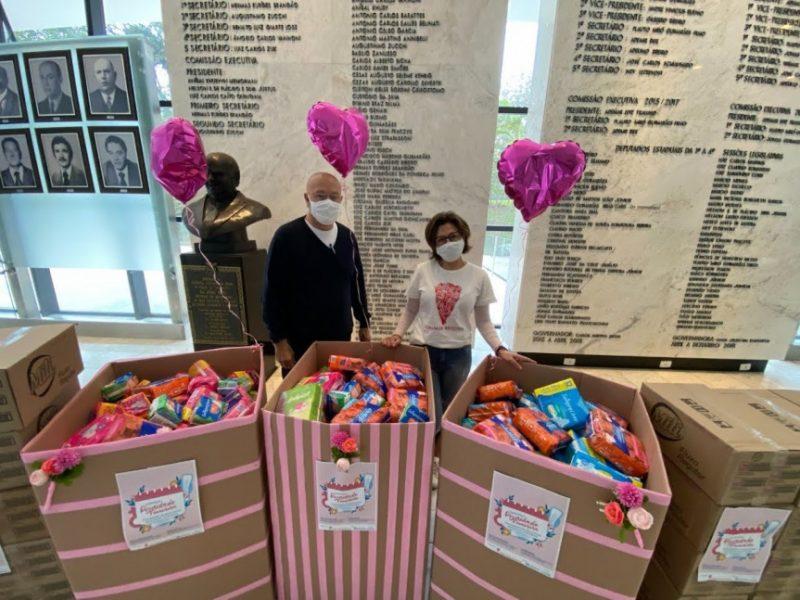 Projeto de lei paranaense propõe distribuir absorventes de forma gratuita
