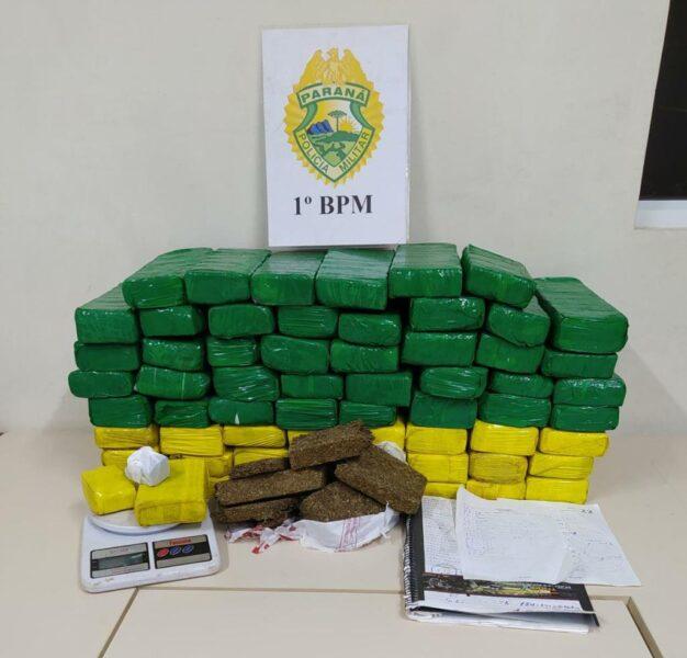 Trio é detido nos Campos Gerais com 35 mil kg de maconha em casa