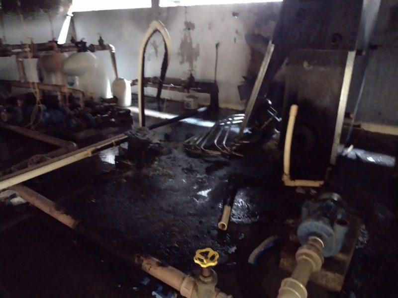 Incêndio na Arena Multiuso tem indícios de vandalismo, diz secretário de Ponta Grossa