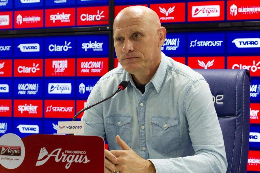 Paraná Clube anuncia Sílvio Criciúma como novo treinador