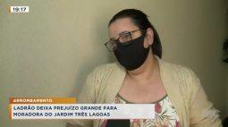 Ladrão deixa prejuízo grande para moradora do Jardim Três Lagoas