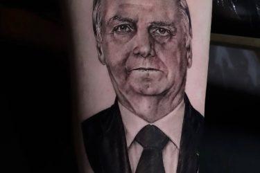 Boa da Pan comenta sobre tatuagem do filho do Bolsonaro