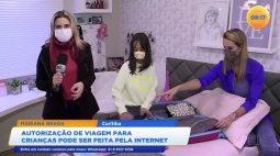 Autorização de viagem para crianças pode ser feita pela internet