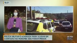 Polícia Militar é acionada para ajudar em confusão no Morumbi, 6 foram presos