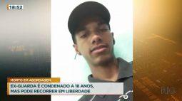 Ex-guarda é condenado a 18 anos por matar jovem em abordagem, mas pode recorrer em liberdade