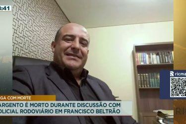 Sargento é morto durante discussão com policial rodoviário em Francisco Beltrão