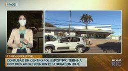 Confusão em centro poliesportivo termina com dois adolescentes esfaqueados