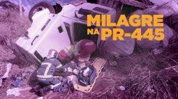 Carro Cruza a rodovia e é atingido por carreta: família escapa da morte