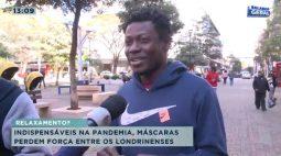 Indispensáveis na pandemia, máscaras perdem força entre os Londrinenses