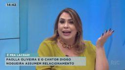 Paolla Oliveira e o cantor Diogo Nogueira assumem relacionamento